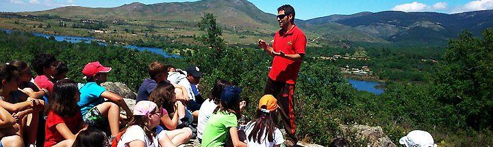 ALBERGUE GRANJA ESCUELA SEGOVIA www.puertadelcampo.es GRANJA ESCUELA MEDIOAMBIENTE